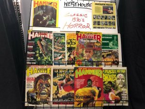 HOUSE OF HAMMER collection 8 diff 1970S HORROR Classics, Comic Adaptions