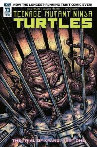Teenage Mutant Ninja Turtles (5th Series) #73B VF/NM; IDW | save on shipping - d