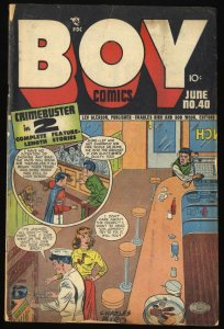 Boy Comics #40 GD+ 2.5