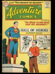 ADVENTURE COMICS #268 1960 DC SUPERBOY AQUAMAN AS A BOY VG