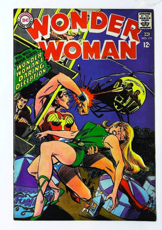 Wonder Woman (1942 series) #173, VF- (Actual scan)