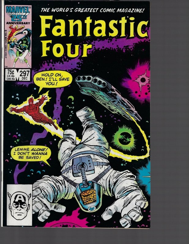 Fantastic Four #297 (Marvel, 1986) NM-