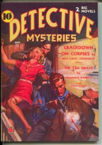 Detective Mysteries 2008-reprints 11/1938 Detective Mysteries issue-weird menace