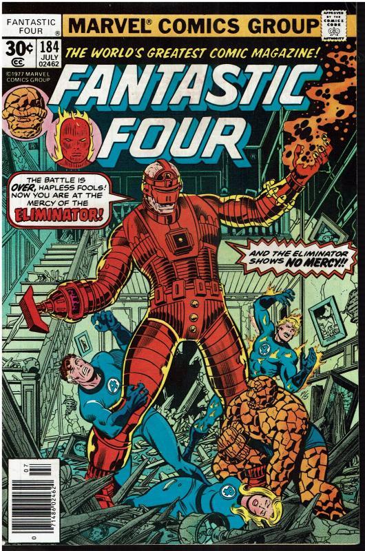 Fantastic Four #184, 7.0 or Better *KEY* 1st Eliminator