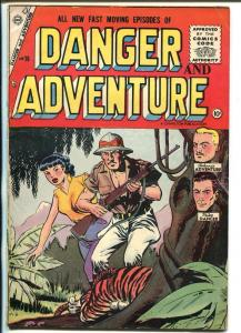 Danger & Adventure #26-1955-Charlton-jungle-Mike Danger-Johnnie Adventure-FN