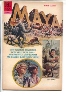 Maya 1966-Dell-Clint walker-Jay North-movie edition-G/VG