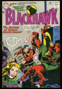BLACKHAWK #204 1965-DC COMICS-QUEEN KILLER SHARK WAR VG/FN