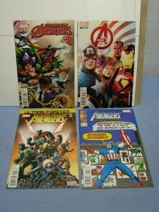 Lot Of 4 Marvel Comics Avengers Books Modern Titles #1 Variants & More L@@K!