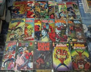 BADGER 1983-1991 22 books! VF/+ Baron/Butler MOSTLY SCARCE LATER ISSUES