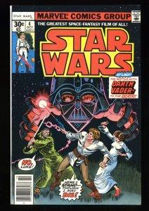 Star Wars #4 VF+ 8.5 Darth Vader!