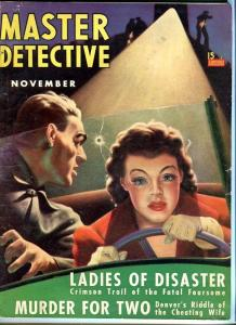 MASTER DETECTIVE-NOV/1940-GD/VG-DAUGHTER OF DOOM-LADIES OF DISASTER G/VG