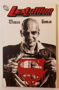 Lex Luther: Man Of Steel TPB Soft Cover Brian Azzarello Dc Comics First Print NM