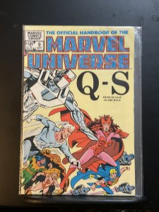 The Official Handbook of the Marvel Universe #9 (1983)
