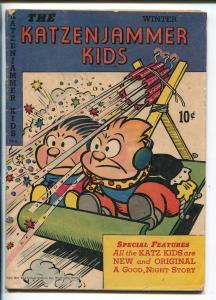KATZENJAMMER KIDS #3-1947-DAVID MCKAY-FIREWORKS-vg
