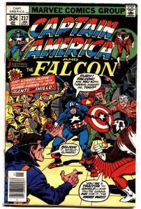 Captain America #217 1978-first Marvel Man/Quasar-vg/fn