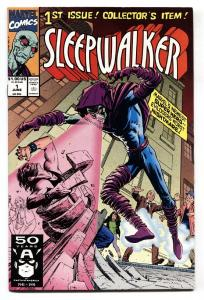 Sleepwalker #1-1991-Marvel-First appearance-comic book