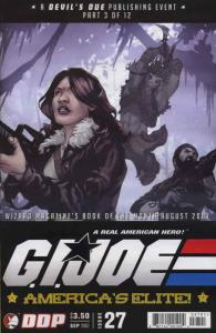 G.I. Joe Comic Book (Vol. 2) #27 VF/NM; Devil's Due | save on shipping - details
