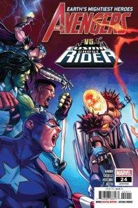 Avengers (July 2018 series) #24, NM + (Stock photo)