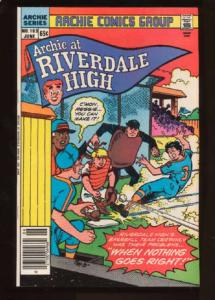 Archie at Riverdale High #103, NM- (Actual scan)