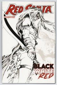 Red Sonja Black White Red #3 Cvr F 1:15 Lau B&W Variant (Dynamite, 2021) NM