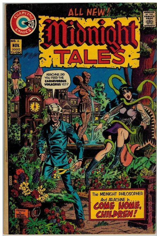 MIDNIGHT TALES 6 FN- November 1973