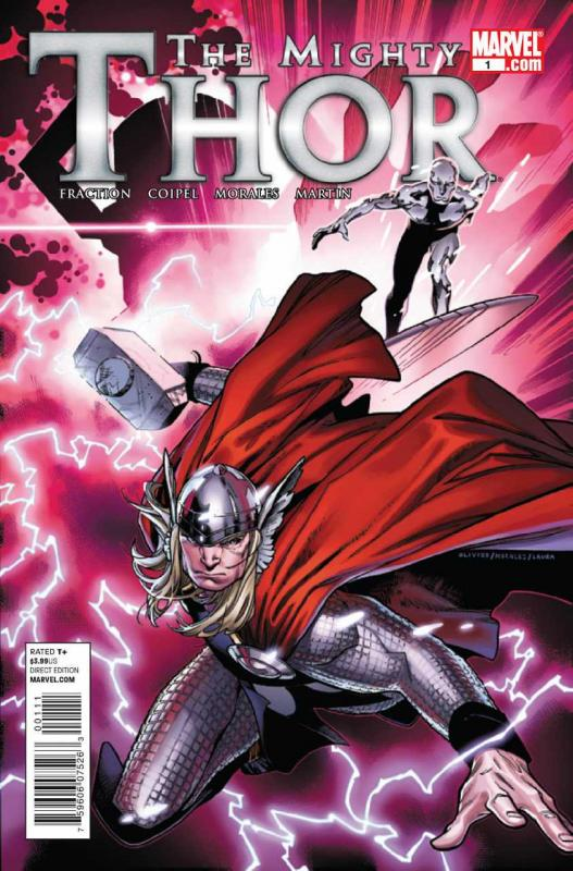 The Mighty Thor #1 (2011) stock photo ID#B-1