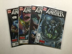 Space Punisher 1-4 1 2 3 4 Limited Series Lot Run Set Near Mint- Nm- 9.2 Marvel