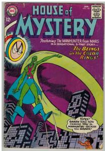 HOUSE OF MYSTERY 148 FR-G January 1965