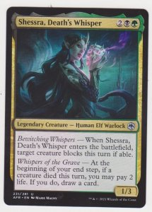 Magic the Gathering: Adventures in the Forgotten Realms- Shessra Death's...