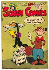 Real Screen #77 1954- Fox and Crow- Funny Animals VG+