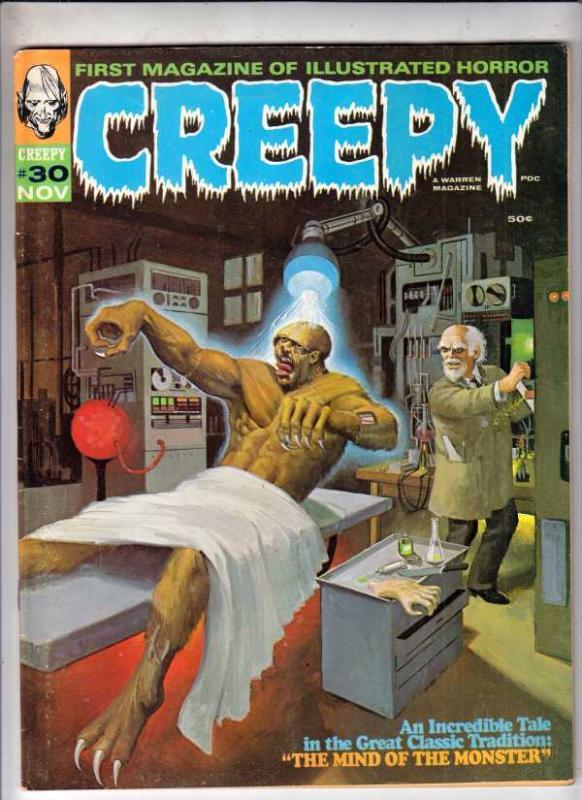 Creepy Magazine #30 (Nov-69) FN/VF Mid-High-Grade