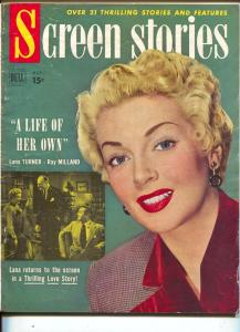 Screen Stories-Lana Turner-Ray Milland-Donald O'Connor-Gene Autry-Oct-1950