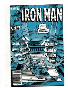 10 Iron Man Marvel Comics # 180 183 184 185 186 187 188 189 190 191 Stark J451