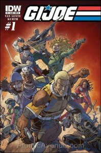 G.I. Joe (IDW, Vol. 3) #1B VF; IDW | save on shipping - details inside