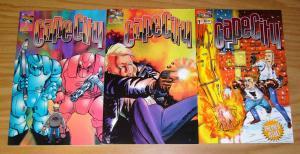 Cape City #1-3 VF/NM complete series - dimension x comics set lot 2 spratlin