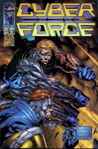 Cyberforce (Vol. 2) #21 VF/NM; Image | save on shipping - details inside