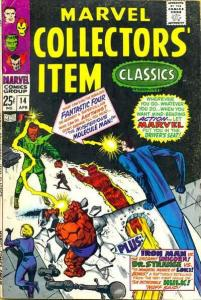 Marvel Collectors' Item Classics #14, Fine+ (Stock photo)