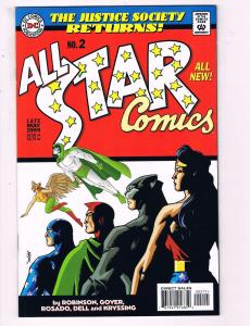 All Star Comics #2 VF DC Comics Comic Book Robinson Justice Society 1999 DE18
