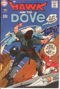 HAWK & DOVE (1968) 3 F-VF January 1969 COMICS BOOK
