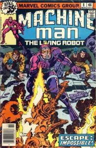 Machine Man (1978 series) #8, VF+ (Stock photo)