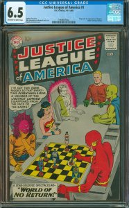 Justicer League of America #1 CGC Graded 6.5 Origin and 1st appearance of Des...