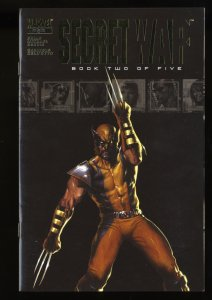 Secret War #2 VF/NM 9.0 1st Quake, Daisy Johnson!