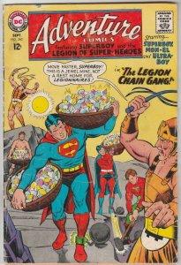 Adventure Comics #360 (Sep-67) GD Affordable-Grade Legion of Super-Heroes, Su...