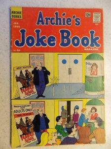 ARCHIE'S JOKE BOOK # 84 ARCHIE JUGHEAD VERONICA BETTY RIVERDALE CARTOON