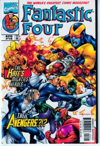Fantastic Four(vol. 2)# 16,19,20,21,22,23 Avengers ! Annihilus ! Lost in Time !