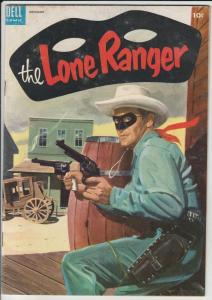 Lone Ranger, The #77 (Nov-54) FN/VF+ High-Grade The Lone Ranger, Tonto, Silver