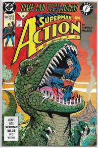 Action Comics   vol. 1   #664 VG/FN (Time and Time Again 5)