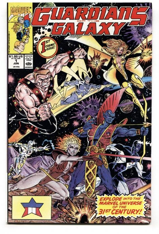 GUARDIANS OF THE GALAXY #1 comic book 1990-first issue-marvel nm- high grade