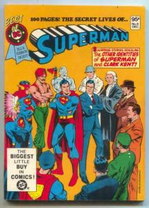 Best Of DC #8 1980- Secret lives of Superman-DIGEST-NM