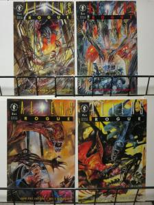 ALIENS ROGUE (1993 DH) 1-4 complete mini EDGINTON/WILL